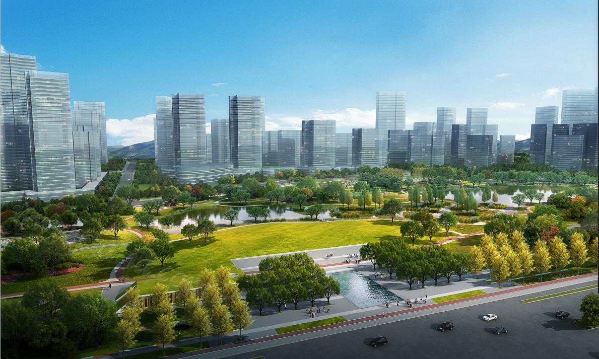 华夏幸福彭山产业新城中央公园3