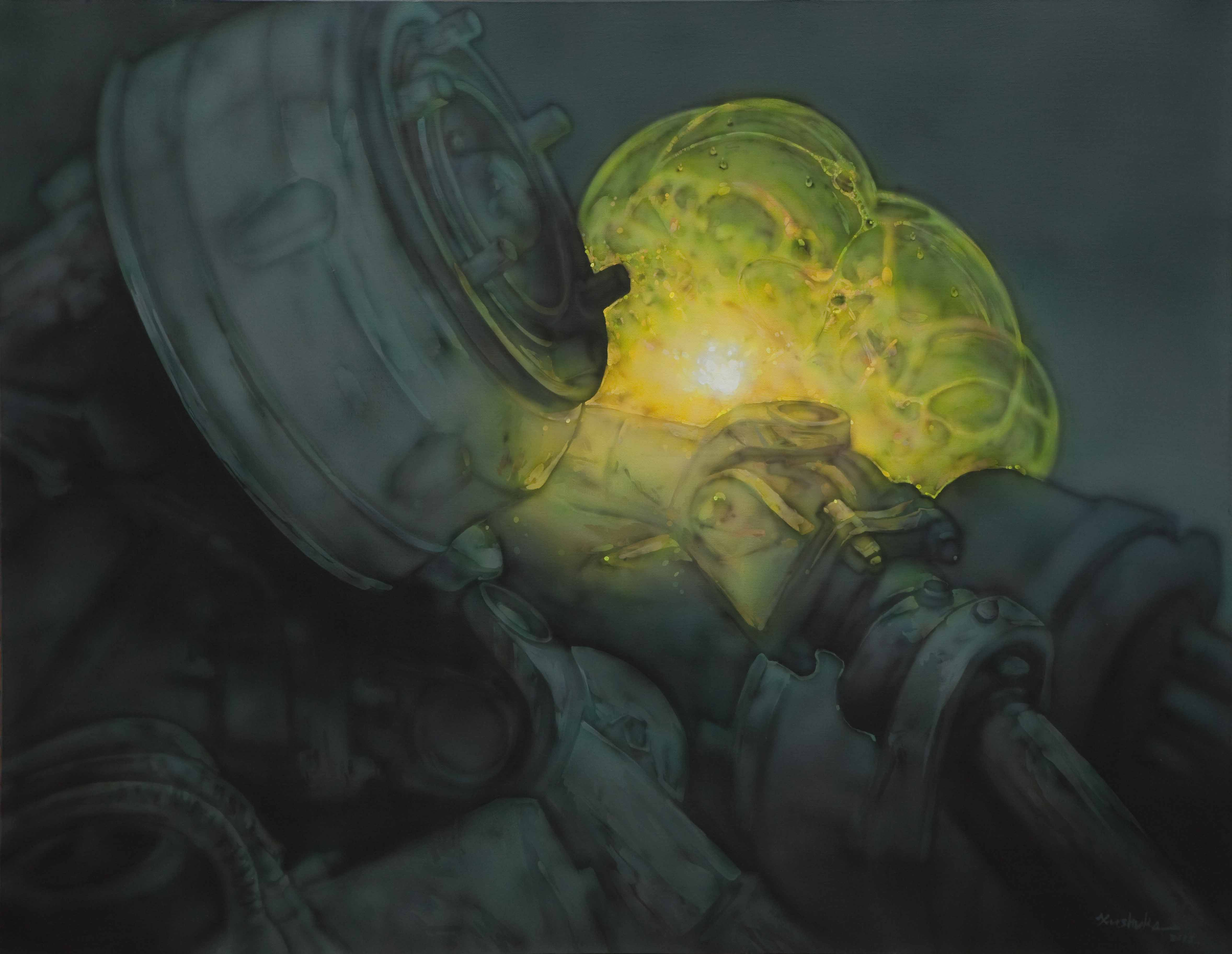透过时代症候的迷彩——徐术珂《泡沫》系列