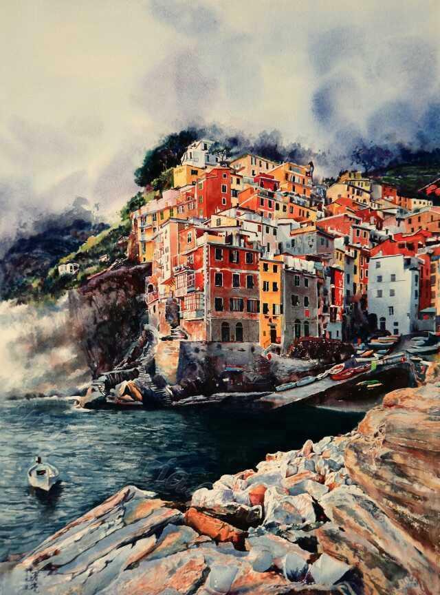 意大利五渔村系列之一