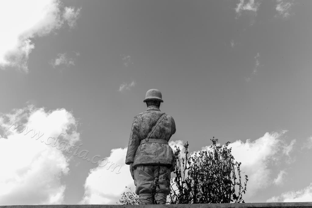 滇缅远征军雕像