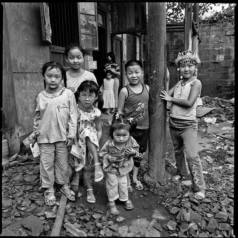 一个院子里的孩子们