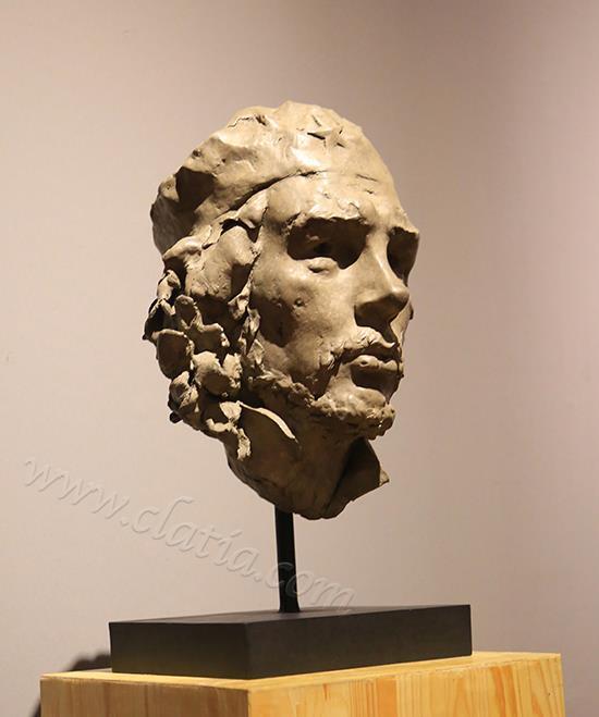 切·格瓦拉 -青铜(侧视)