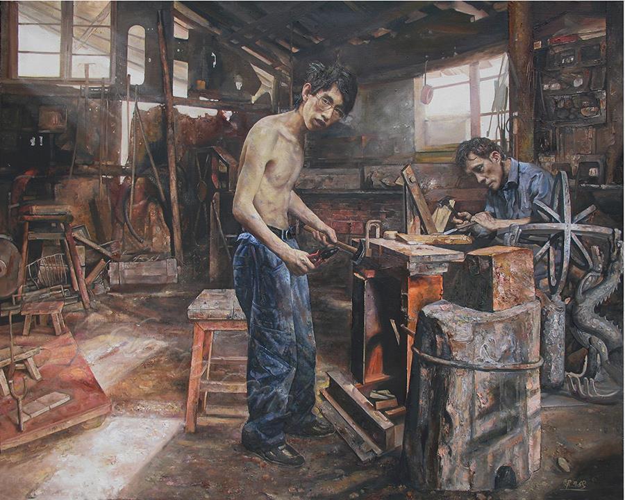 工坊-布面油画
