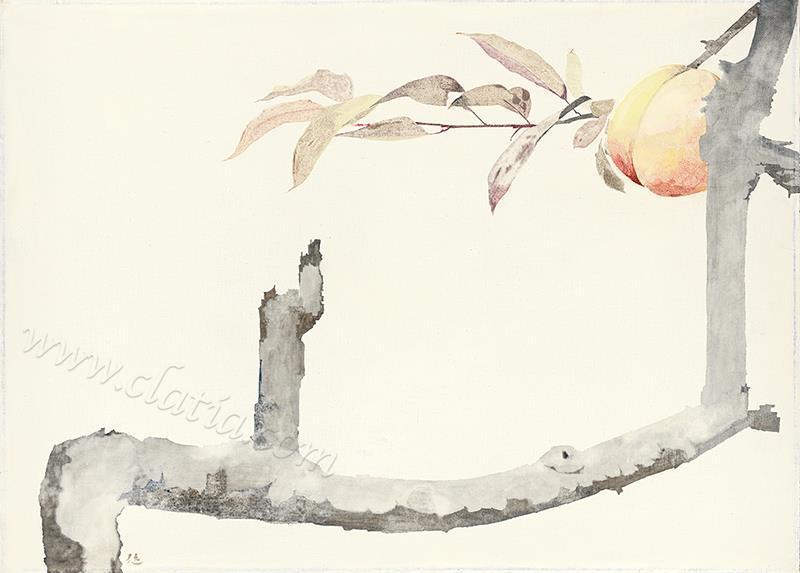 摘叶寻枝-布面油画