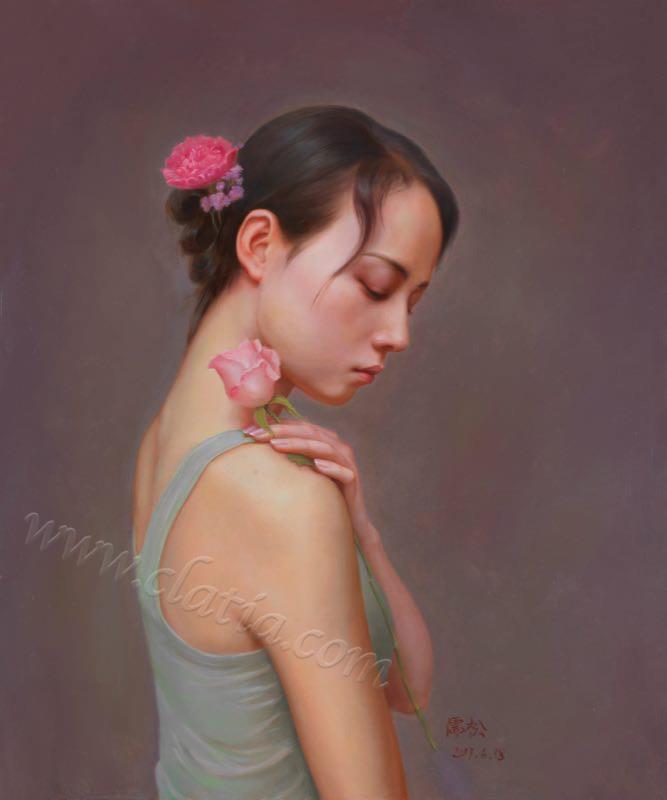 遐想系列5-布面油画