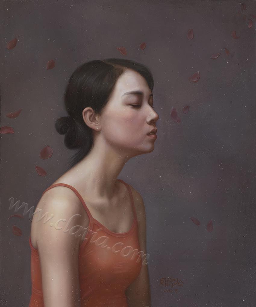 遐想系列2-布面油画