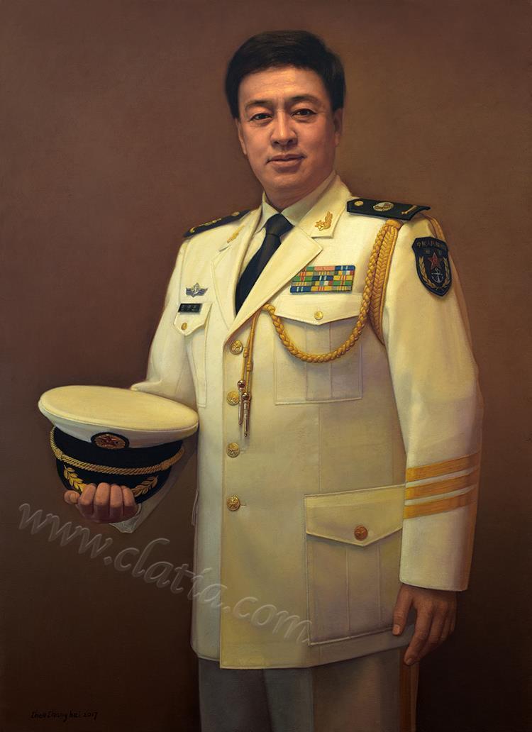 歌唱家吕继宏-油画