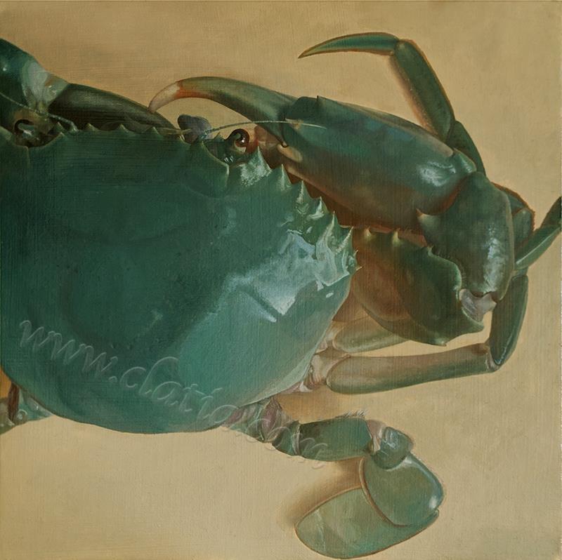 青蟹-油画