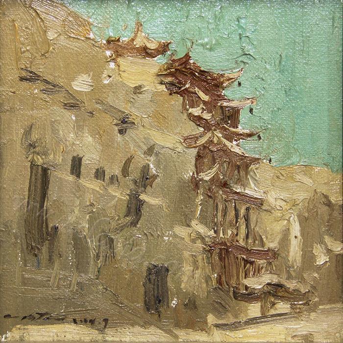 莫高窟-油画