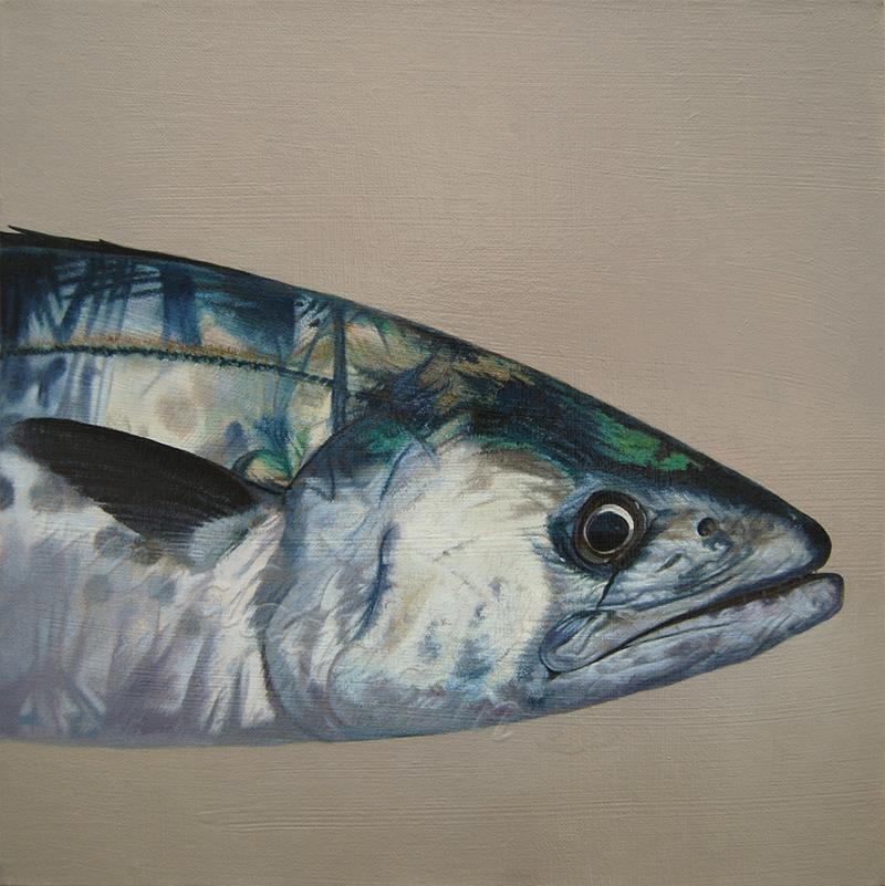 马鲛鱼-油画