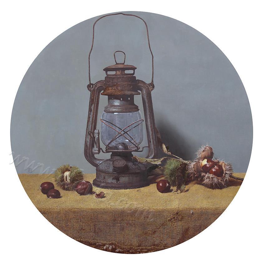 物语·青芒-布面油画