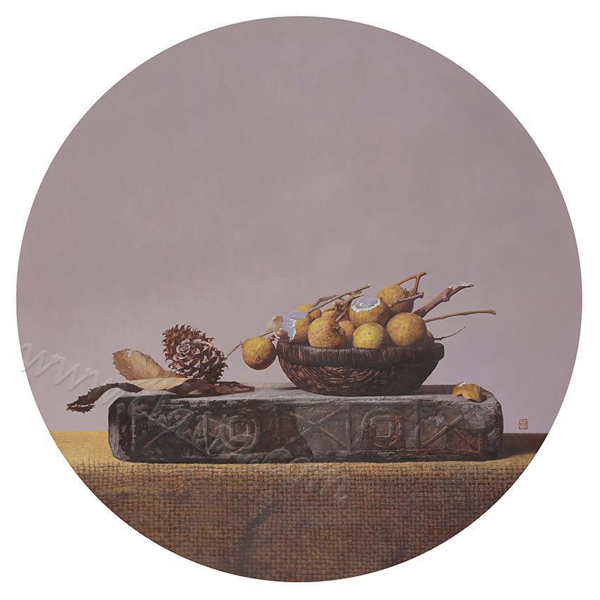 物语·慕青-布面油画