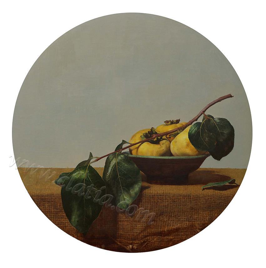 物语·朗月-布面油画