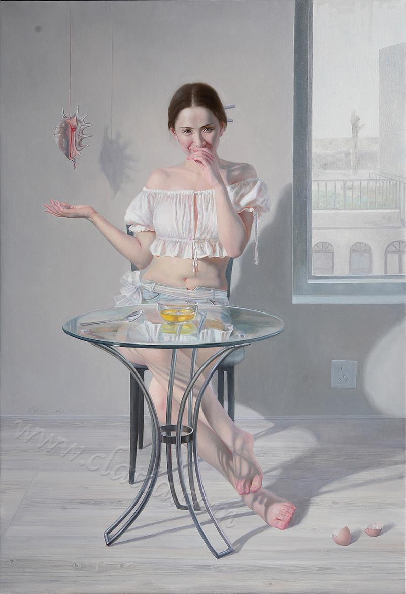 双黄蛋-油画