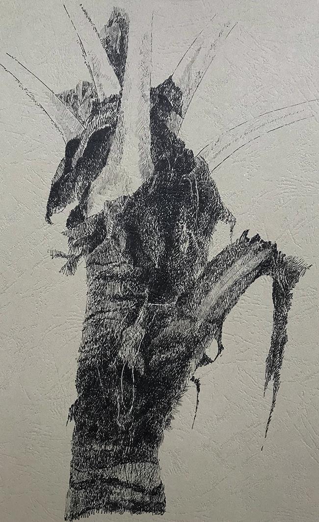 树干系列5-中性笔·皮纹纸