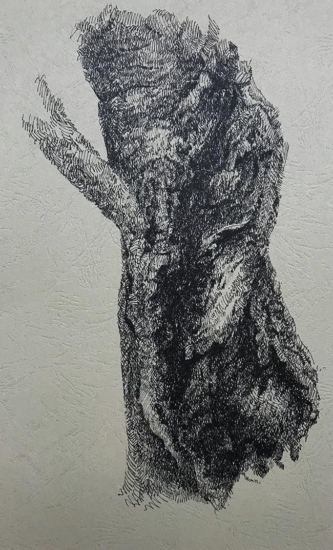 树干系列2-中性笔·皮纹纸