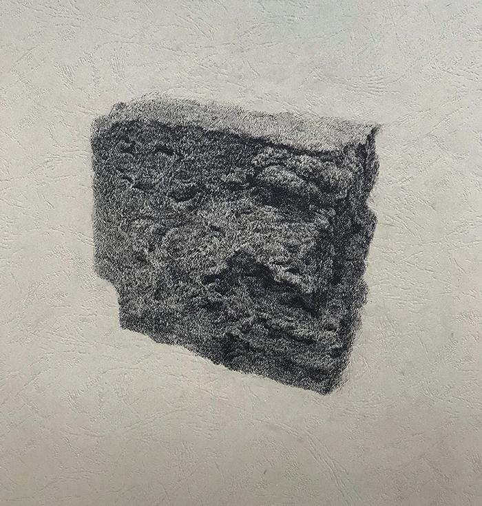 风化系列之:砖-中性笔·皮纹纸