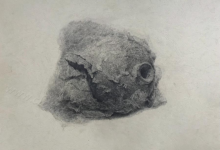 风化系列之:罐-中性笔·皮纹纸