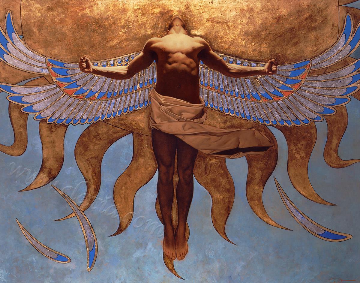 飞向太阳的伊卡洛斯