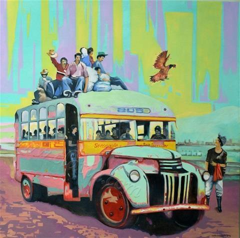 El Chicken Bus