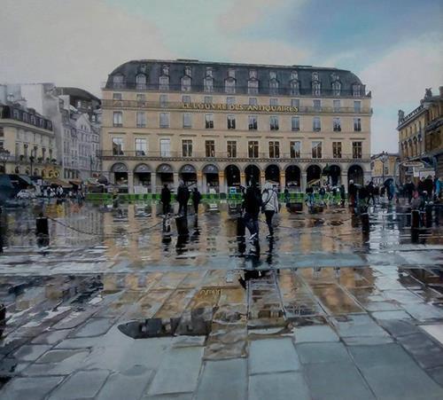As cores de Paris-Óleotela