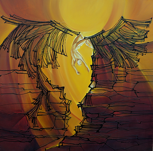 Ikaros fall down