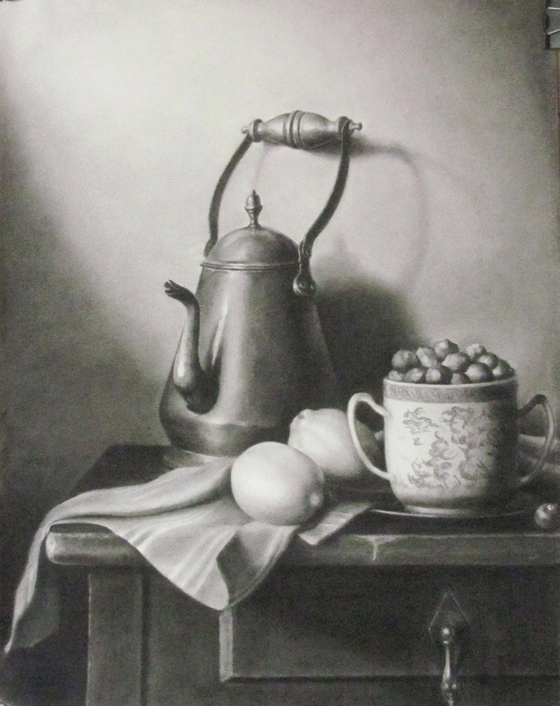 Still life Drawing Study