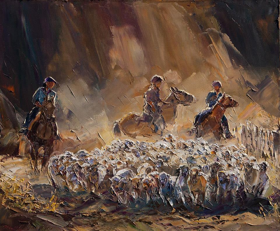 Arreo de ovejas