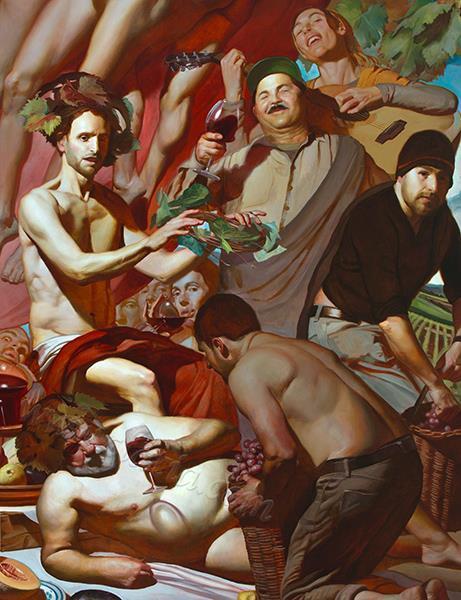 Triumph of Bacchus (detail)1