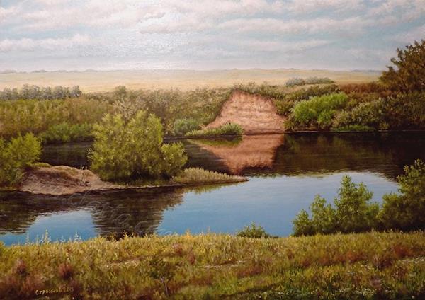 2) _Steppe River