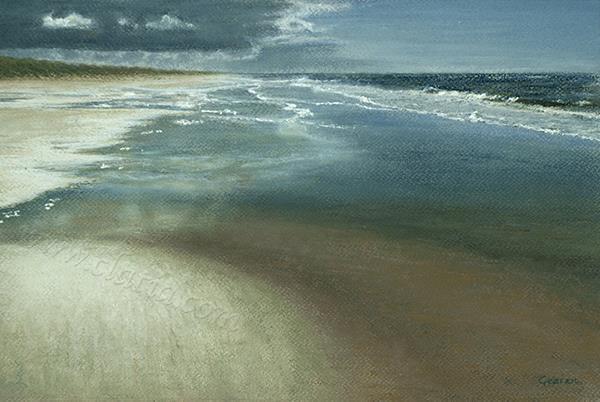 Ebb tide Crayon