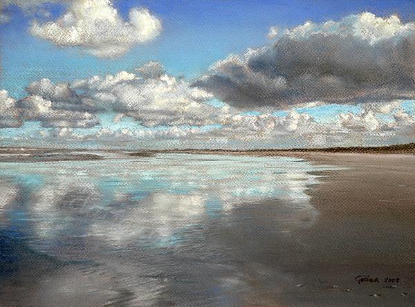 Evaporating into a cloud Crayo