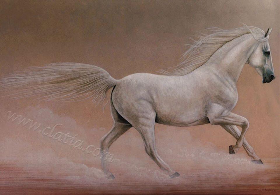 3. Running Horse