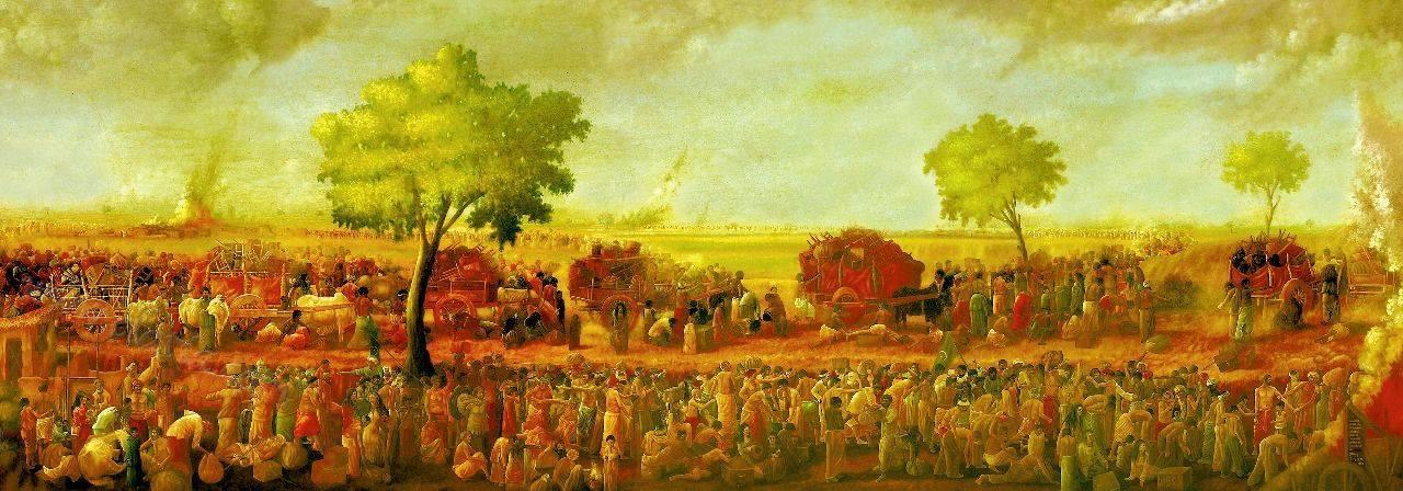 2. Partition of India 14th Aug
