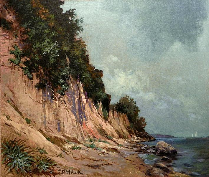 Cliff, Baltic coast