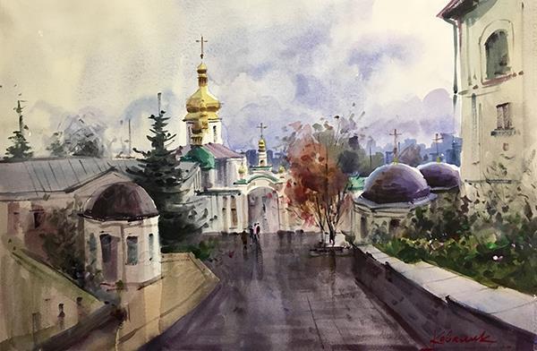 «Киево-Печерская Лавра. Киев,
