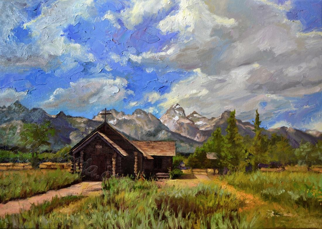 Available - Church and Tetons