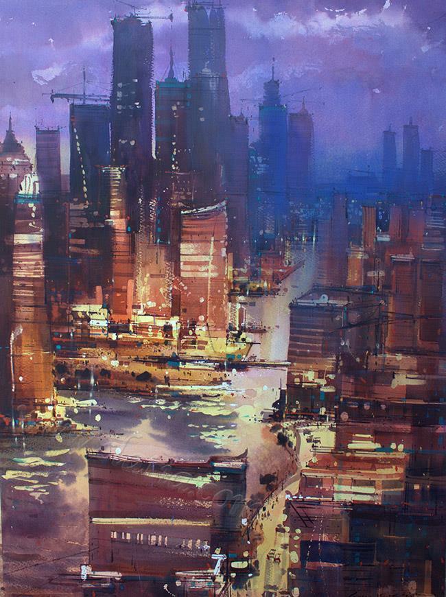 EugenGorean,Night trafic