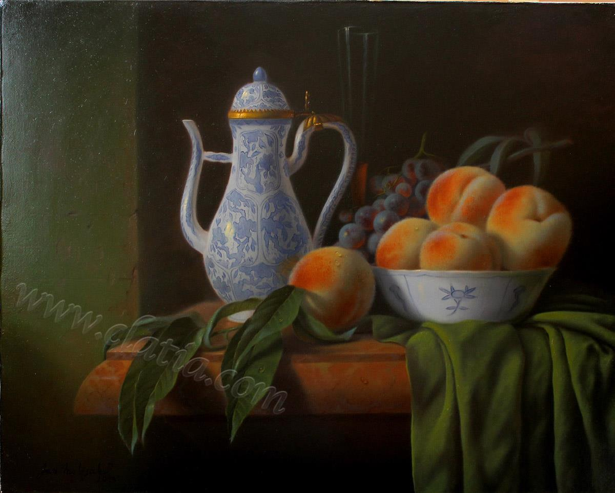 still-life-with-peaches