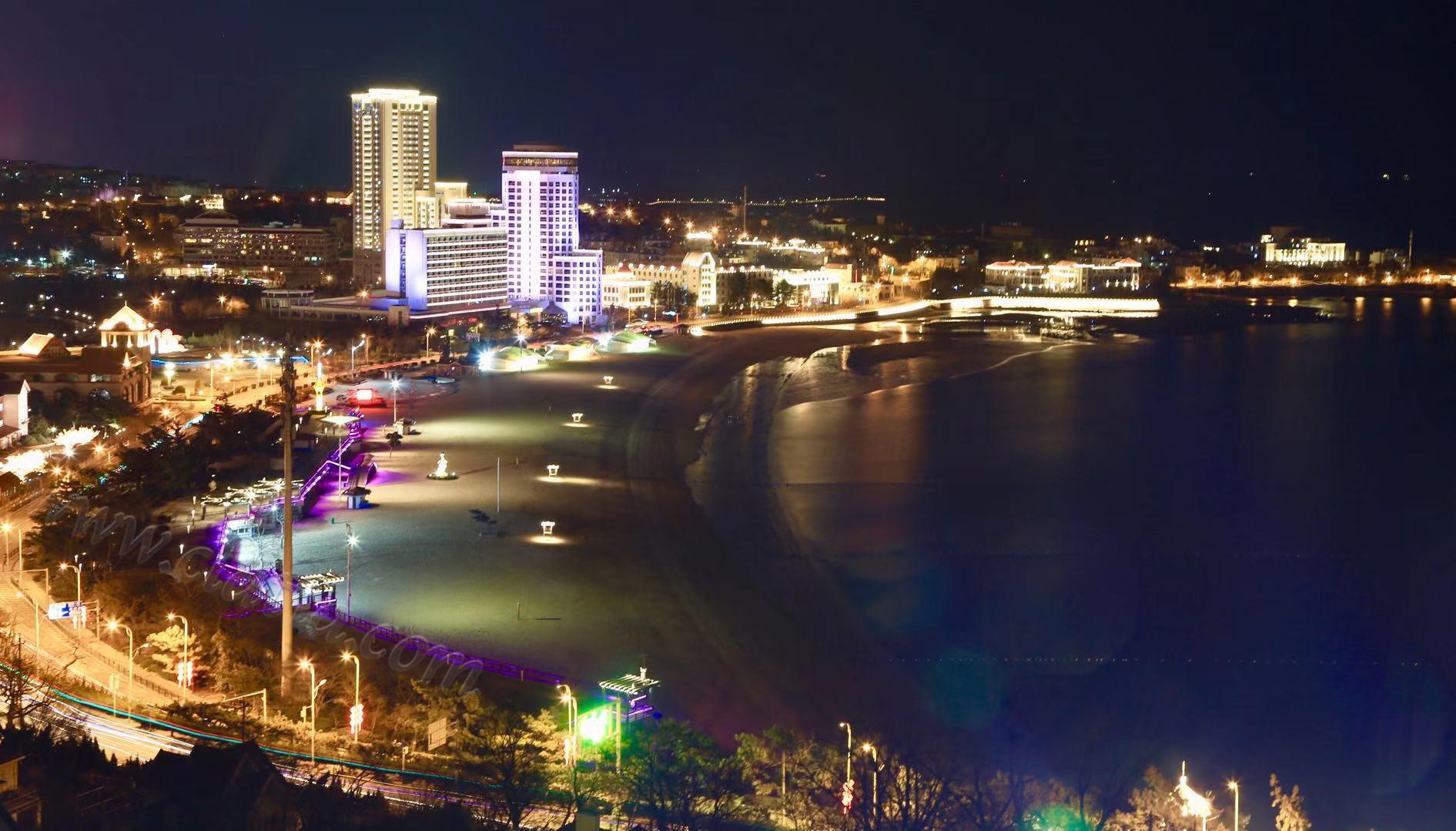 汇泉湾的夜晚