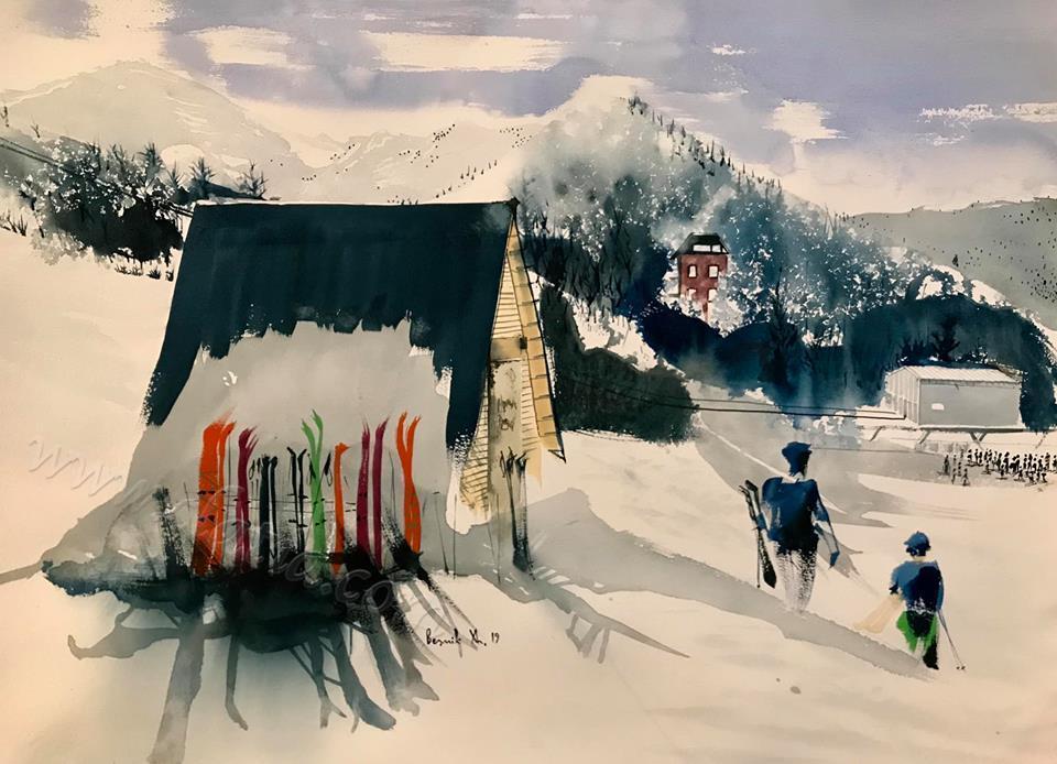 """""""Skiers in Brezovic"""""""