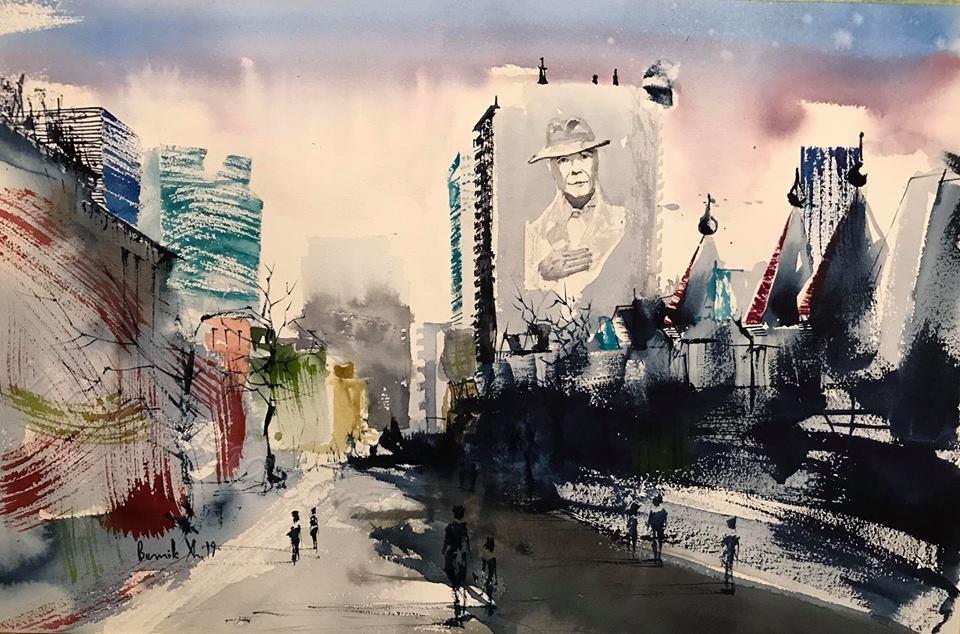 """Montreal Cityscape"""