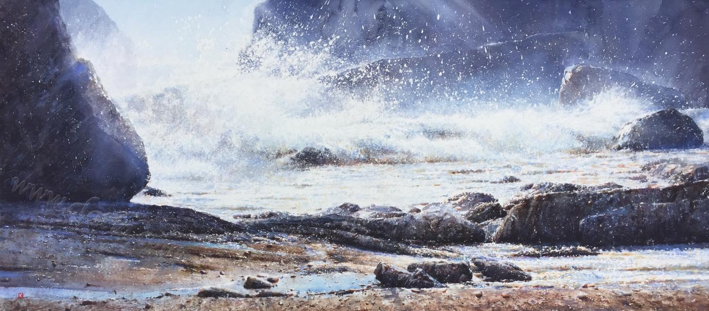 Rocks & Waves 9