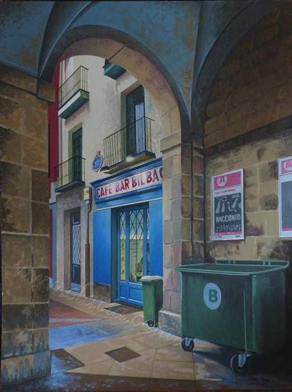 毕尔巴鄂咖啡馆,新广场