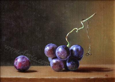 Naura morta con uva