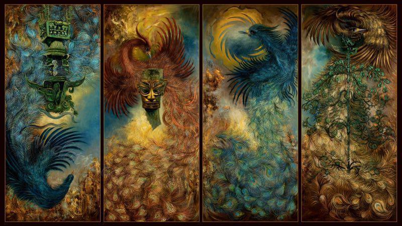 《古蜀颂 太阳祭NO3》