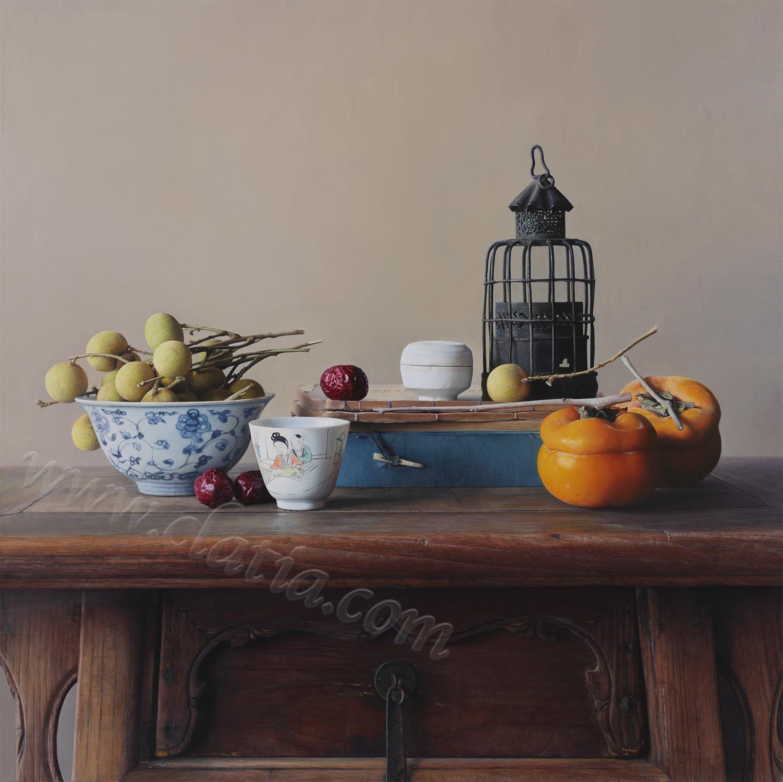 十月-布面油画