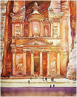 Petra,Jordan