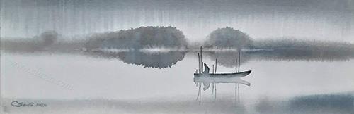 Misty Danube
