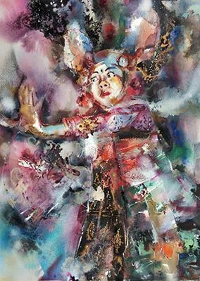 1. _ Legong Keraton Dancer